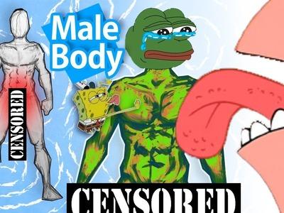 ????HATE Drawing a Male Body? Watch This ( ͡° ͜ʖ ͡°)