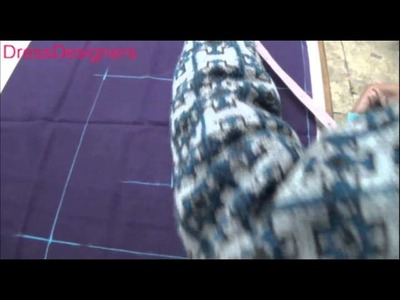 How To Cut & Stich A Blouse (part-1). Easy and simple to learn