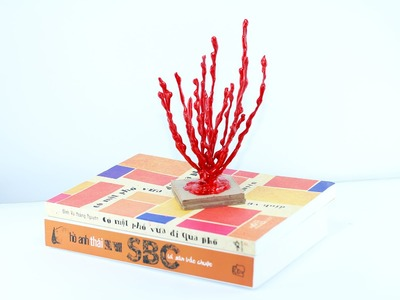 How to make a coral tree