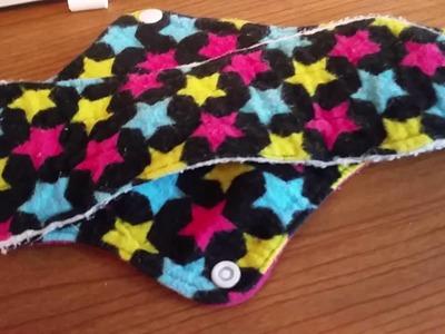 How to make a pocket cloth pad