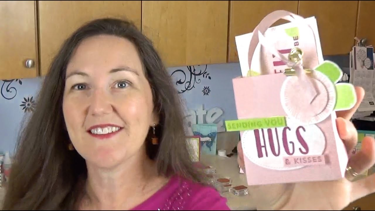 How to Use the Gift Bag Punch Board: Lovely Words Gift Set