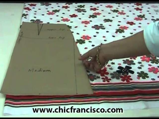 Lesson 2-35   Introduction on How to Lay, Pin, Mark, and Cut the Fabric