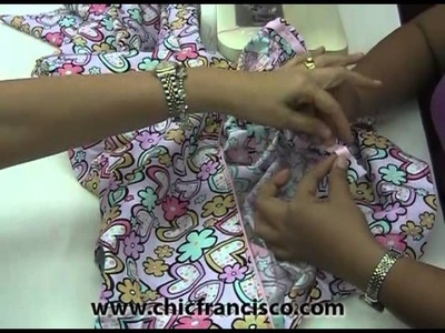 Lesson  2-46  How to Attach the Zipper Part 5b