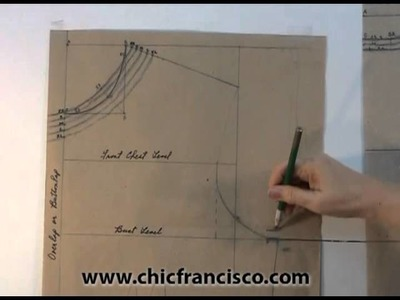Lesson 3-3 Introduction Part 1C - PATTERN DRAFTING OF A STRAIGHT BLOUSE