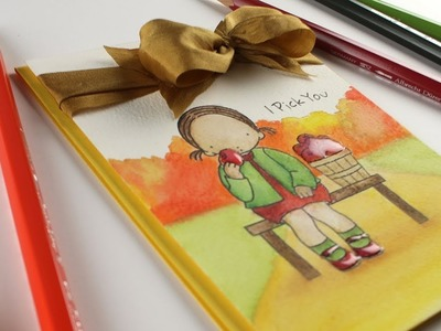Love You to the Core: Watercolor Pencil Coloring with Sandy Allnock