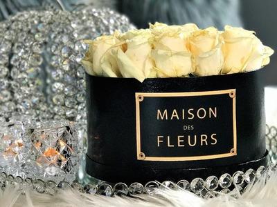 NEW! DIY INSTAGRAM ROSES |  MAISON DES FLEURS  Box