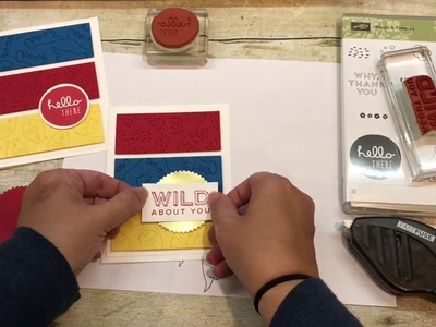 Quick and Easy Card Layout perfect for Kid's Cards but easy to alter for anything!