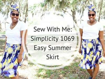 Sew With Me: Simplicity 1069 Wrap Skirt