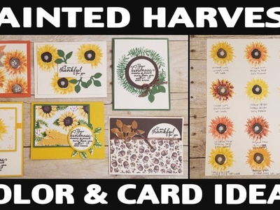 Stamping Jill - Painted Harvest Color & Card Ideas