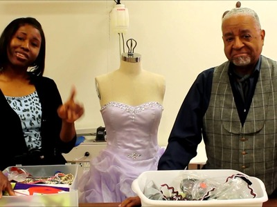 The Tailor and The Dressmaker Episode. 17--- Embellishing with Crystals and Trims