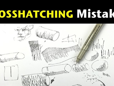 Top 3 Cross Hatching Mistakes | Tips on how to avoid them