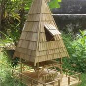 Tradisional house from Bima Indonesia called Uma Lengge