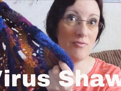 Vlog 22 - Virus Shawl and Hats (for Woolly Hugs)