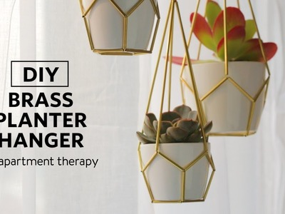 Weekend DIYs: Make A Planter To Hang Your Plants