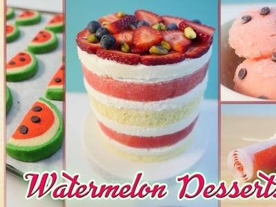 10 Best WATERMELON Recipes in 10 minutes: How To Cook That Ann Reardon