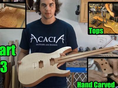 Acacia Guitars - CNC Body, Glue Top, Carve Neck - Video 3 of 9