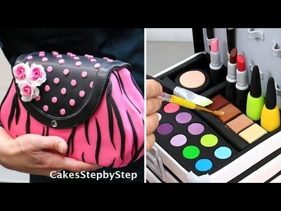Amazing MAKE UP.FASHION Cakes and Cupcakes Compilation by Cakes StepbyStep