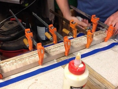 Boudreau Guitars - Building a multi piece neck for the Instigator Part 4