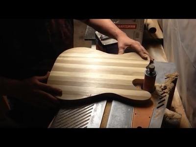 Boudreau Guitars - Building the cutting board Instigator Part 1