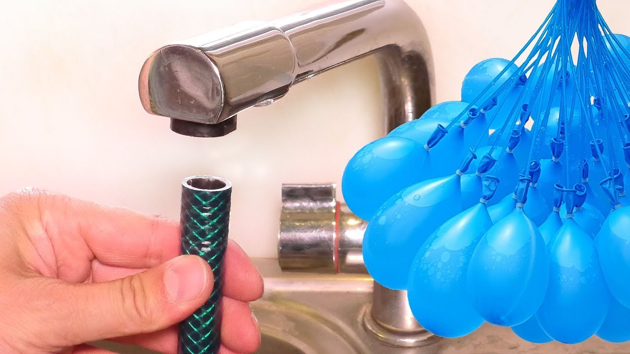 Connect a Hose to ANY Tap - Summer Life Hack - Bunch O Balloons