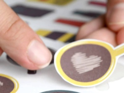 Cutting Printable Sticker with the Gyro Cut