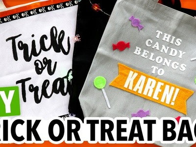 DIY Halloween Trick or Treat Tote Bags! - HGTV Handmade