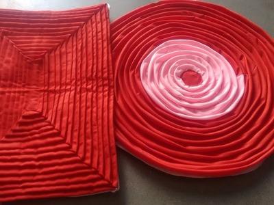 Doormat from waste clothes | फालतू कपड़ों से सुन्दर पायदान बनाना