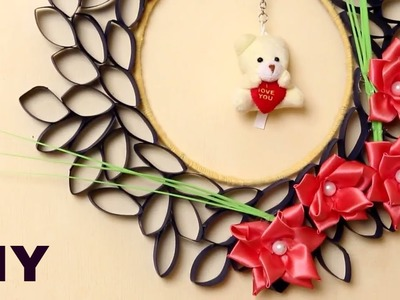 Easy Wall Hanging Idea Using Paper || DIY ♥✴❤