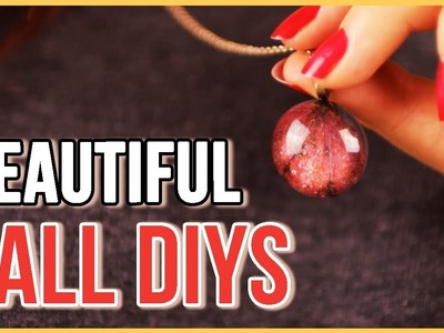 Fun & Easy Fall Themed DIYs That'll Get You Hyped For Autumn!