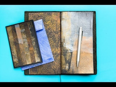 Gelli Arts® Gel Printing with Metallic Paint and Textured Wallpaper | Gelli Arts®