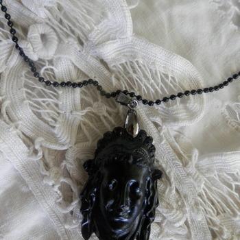 """Goddess Head"" Pendant"