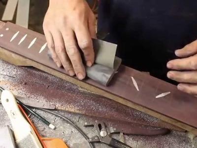 Guitar Build - Part 11 - Inlay Wrap Up