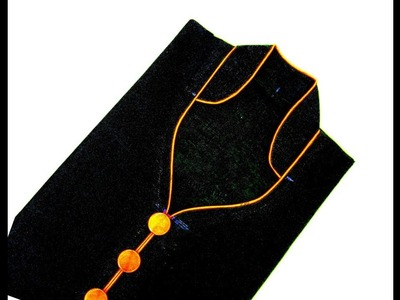 Half Collar Neck Drafting , Cutting and Stitching ( DIY )| SIMPLE steps