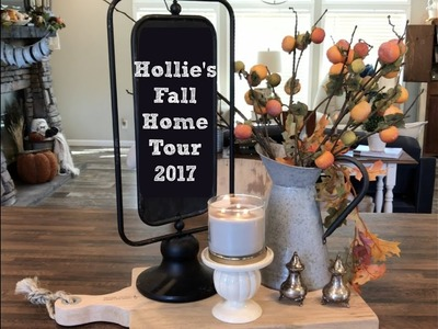 Hollie's Home Fall Tour 2017 {My Cousin Hollie's Home}
