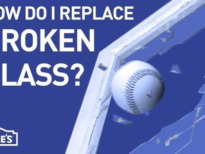 How Do I Replace Broken Glass?   DIY Basics
