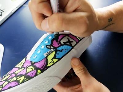 How I Make Custom Vans Shoes