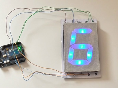 How to Make a 7 Segment Display at Home