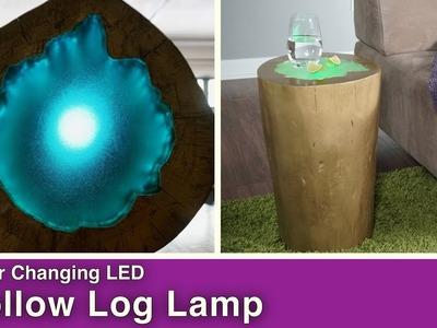 How to Make an LED Log Lamp