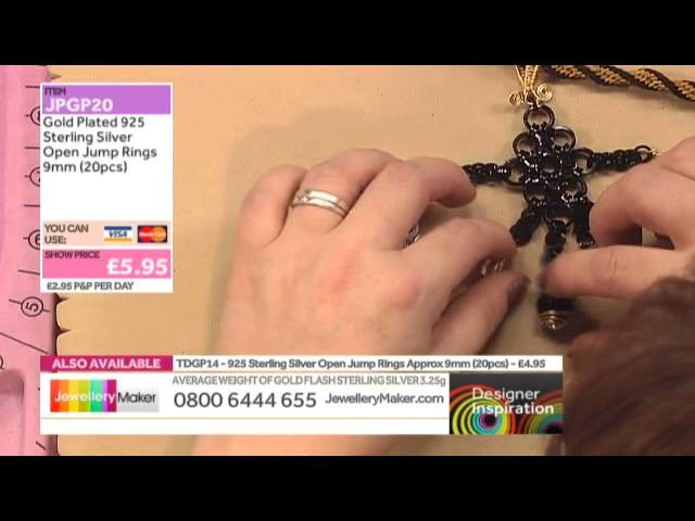 How to Make Chain Maille Jewellery: JewelleryMaker LIVE 19.11.2014
