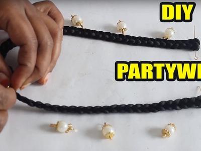 How to Make Silk Thread Black Dori Necklace at Home   zooltv