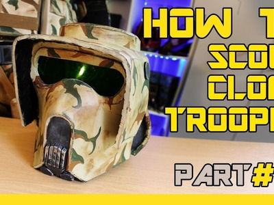 HOW TO: STAR WARS Clone Trooper. Scout Cosplay - ( Part 6, Painting )