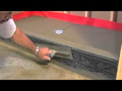 Learn How To Tile a Shower - Watch This Tile Installation Video #2