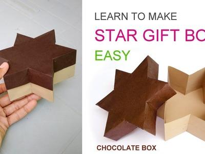 Making Star gift box or Chocolate box easy