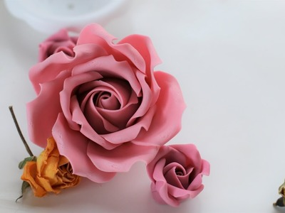 New and updated gumpaste rose video