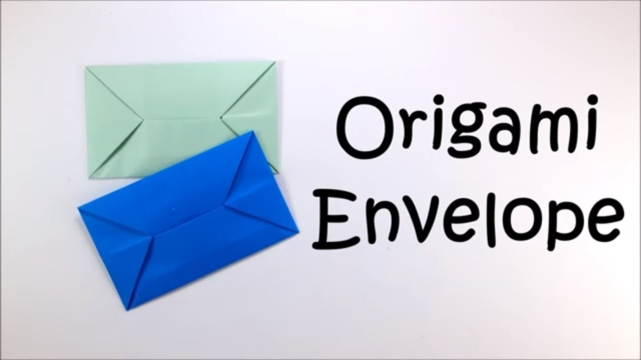 easy origami envelope instructions