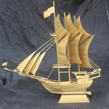 Pinisi Boat Miniature