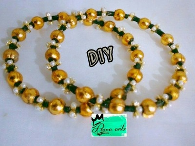 Silk thread bangles - How to make this bangles | jewellery tutorials