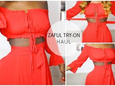 SUMMER 2017 | SLIM THICK SUMMER  ZAFUL CLOTHING TRY ON HAUL | JENEEVALOVE