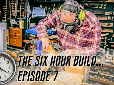 The 6 Hour Build - Ep 7 - The World's Fastest Neck Carve