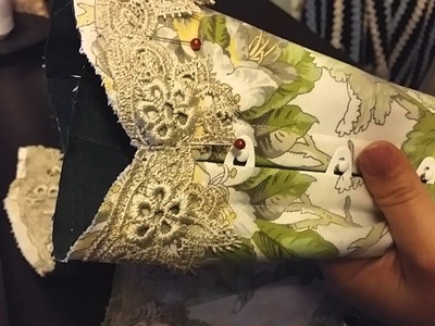 Truly Victorian Corset Part 5: Edging the Top of the Corset